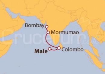Crucero De Male (Maldivas) a Bombay (India)