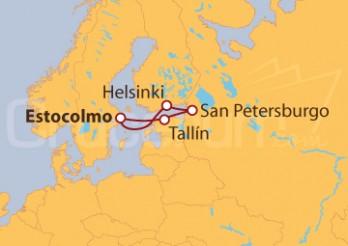 Crucero Joyas del Báltico a PRECIO INCREIBLE