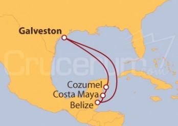 Crucero México y Belize