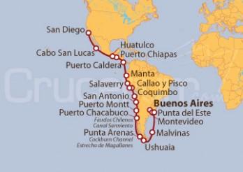 Crucero Imperio Inca y descubriendo Sudamérica