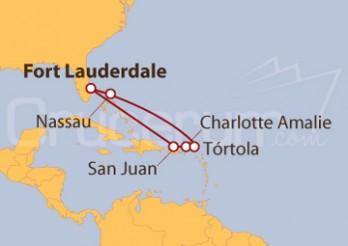 Crucero Puerto Rico e Islas Vírgenes