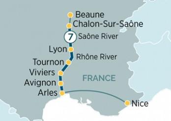 Crucero Sensaciones de Lyon y Provenza