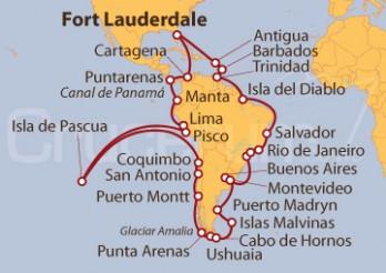 Crucero Sudamérica al Completo