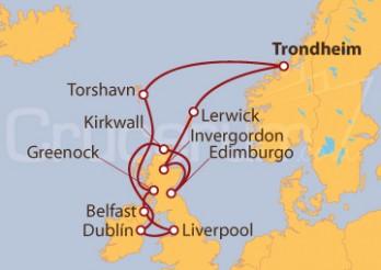 Crucero Expedición a las Islas Británicas