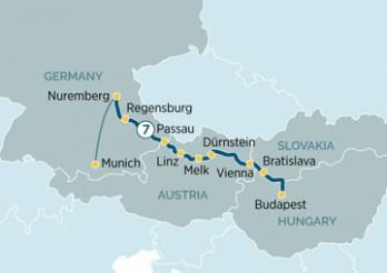 Crucero Delicias del Danubio