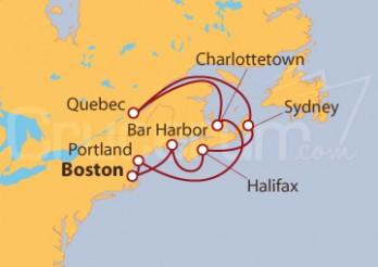 Crucero Estados Unidos y Canadá