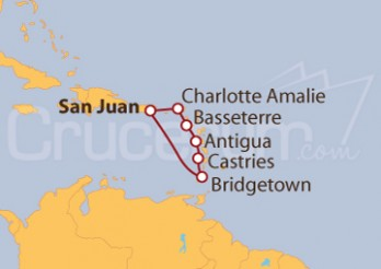 Crucero Explorando el Caribe