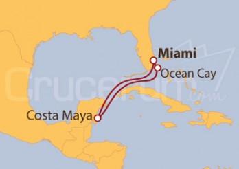 Crucero México y Bahamas