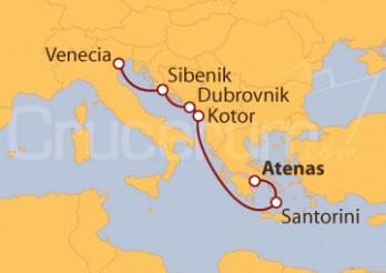 Itinerario Crucero Por el mar Adriático