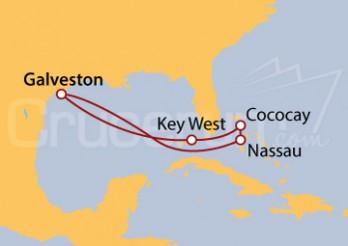 Crucero Bahamas desde Galveston (Texas)