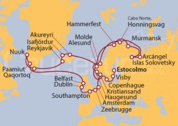 Crucero Gran Círculo del Norte