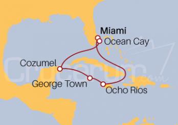 Crucero Viajando por el Trópico de Cáncer
