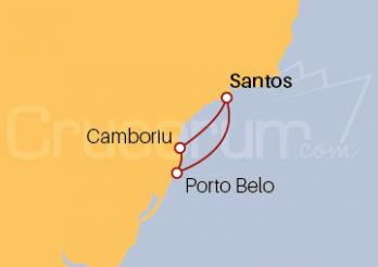 Crucero Brasil desde Santos