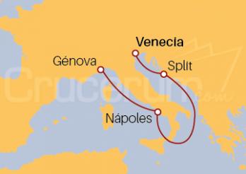 Crucero Italia y Croacia