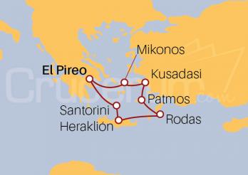 Crucero Egeo Icónico
