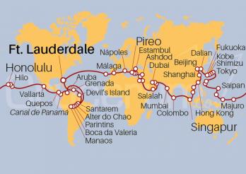 Crucero Gran Vuelta al Mundo 2021