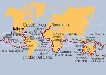 Crucero Vuelta al Mundo 2021 - Océanos Extraordinarios