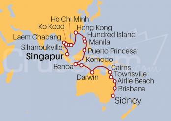 Crucero De Singapur a Sidney