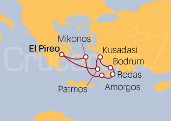 Itinerario Crucero Islas Griegas y Costa Turca