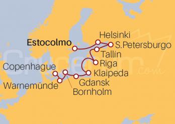 Itinerario Crucero Collage Medieval