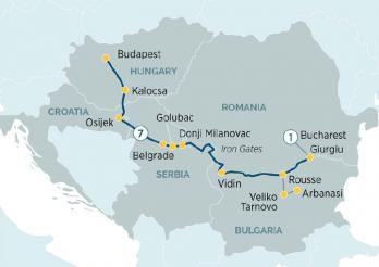 Itinerario Crucero El encanto de Europa del Este