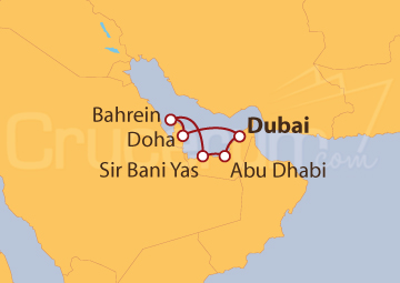 Itinerario Crucero Emiratos Árabes Unidos, Bahréin y Qatar