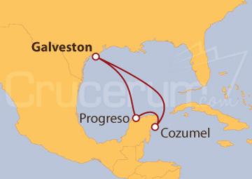 Itinerario Crucero México