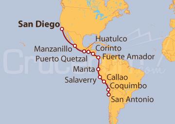 Itinerario Crucero Decubriendo los Incas