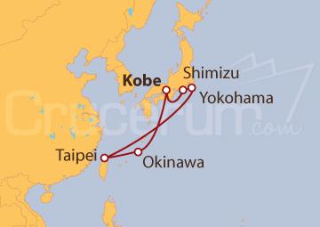 Itinerario Crucero Japón