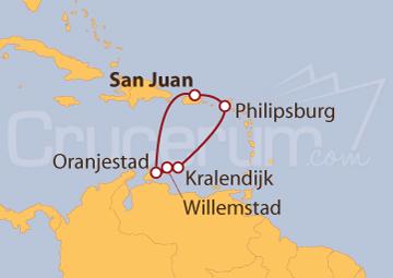 Itinerario Crucero Explorando el Caribe