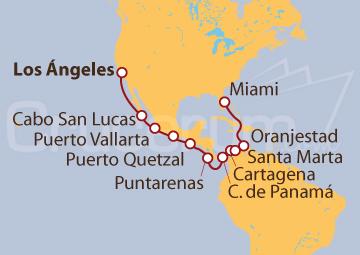 Itinerario Crucero Explorando el Canal de Panamá