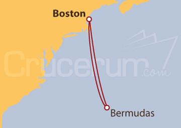 Itinerario Crucero Bermudas