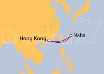 Itinerario Crucero Asia Oriental