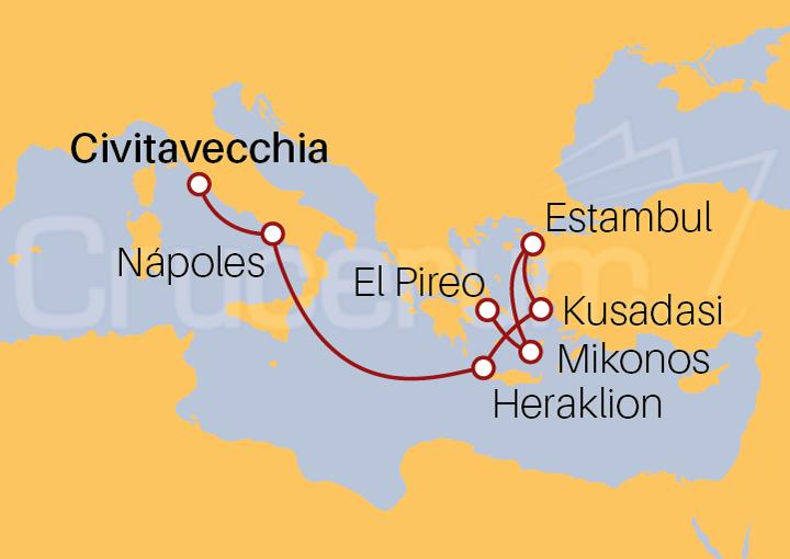 Itinerario Crucero Descubriendo Estambul