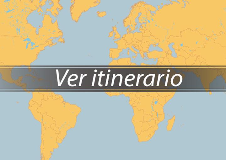 Itinerario Crucero Península Ibérica