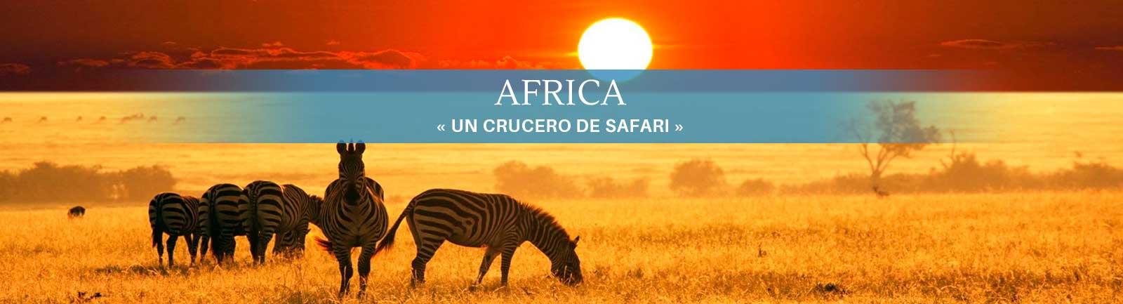 Crucero Africa
