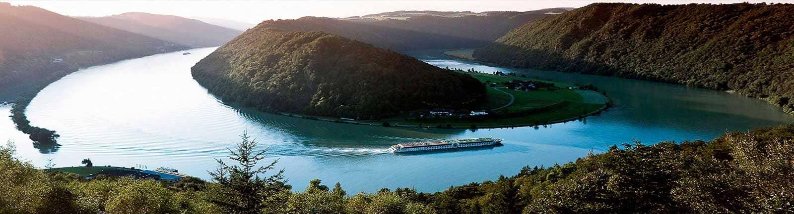 Vista panorámica crucero fluvial A-Rosa