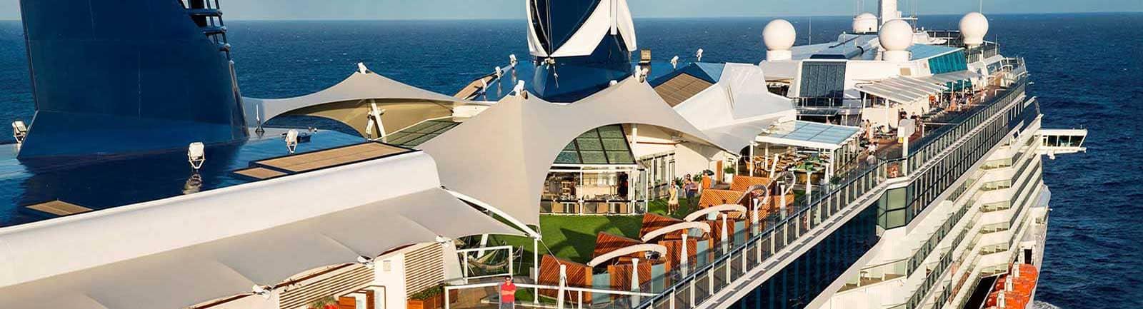 Cubierta Celebrity Cruises