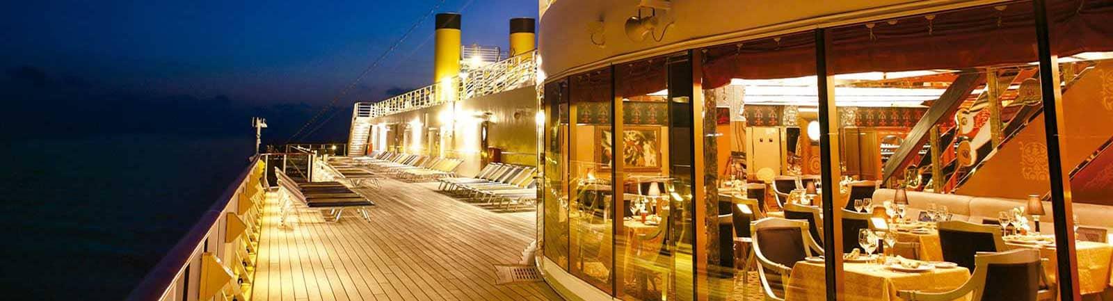 Costa Cruceros Cubierta noche