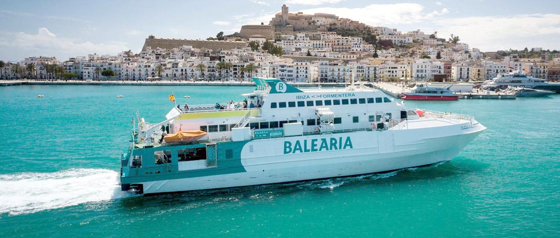 Ferry Balearia cabecera