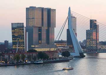 crucero por Rotterdam (Paises Bajos)