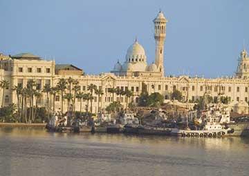 crucero por Alejandría (Egipto)