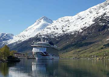 crucero por Olden (Noruega)