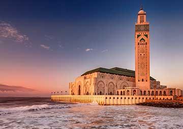 crucero por Casablanca (Marruecos)
