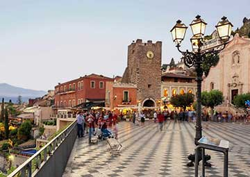 crucero por Taormina (Italia)