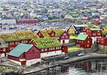 crucero por Torshavn (Ilhas Faroe)