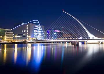 crucero por Dublín (Irlanda)