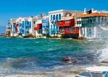 crucero por Mykonos (Grecia)