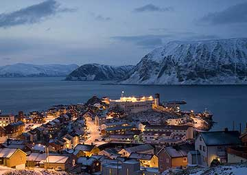 crucero por Honningsvag (Noruega)