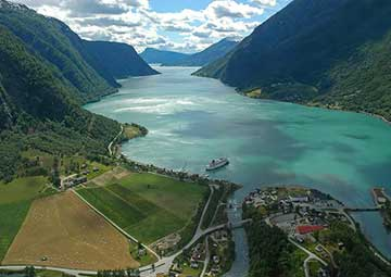 crucero por Skjolden (Norway)